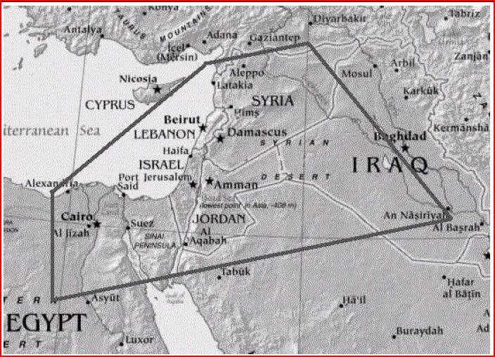 Biblical Borders of the Land of Israel   a12iggymom's Blog