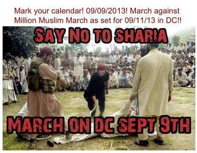 SAY NO TO SHARIA MARCH