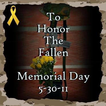 5 30 11 honor the fallen