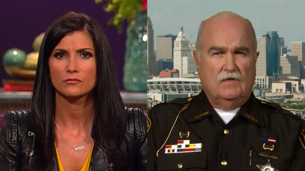 Butler County Sheriff Richard Jones appears on TheBlaze TV's 'Dana' with Dana Loesch July 25, 2014. (Photo: TheBlaze TV)