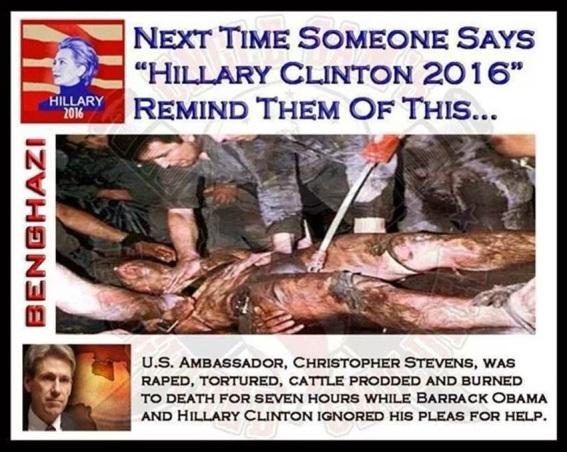 Stevens being tortured in Bengazi